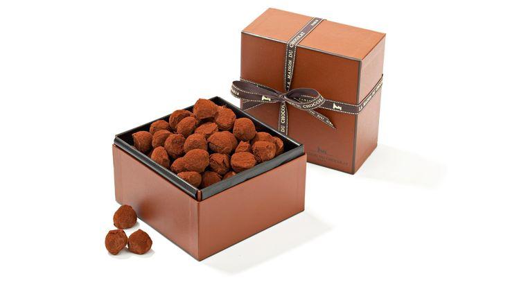 Plain Truffle Box Set | La Maison du Chocolat | AHAlife