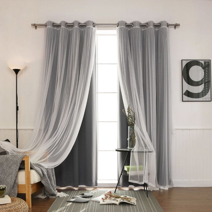 Gregg Blackout Thermal Curtain Panels & Reviews | AllModern