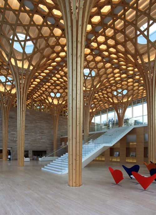 Haesley Nine Bridges Golf Club House designed by Shigeru BAN Architects, Japan 坂 茂