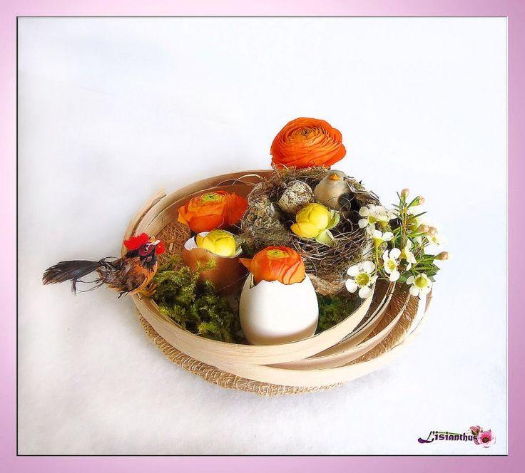 Image - Joyeuses Pâques  - Art Floral - Bouquet- créations florales de... - Skyrock.com