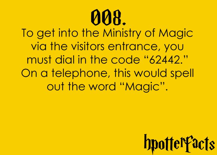 best thing about harry potter... you can read and watch it a million times and still find something you didn't know!