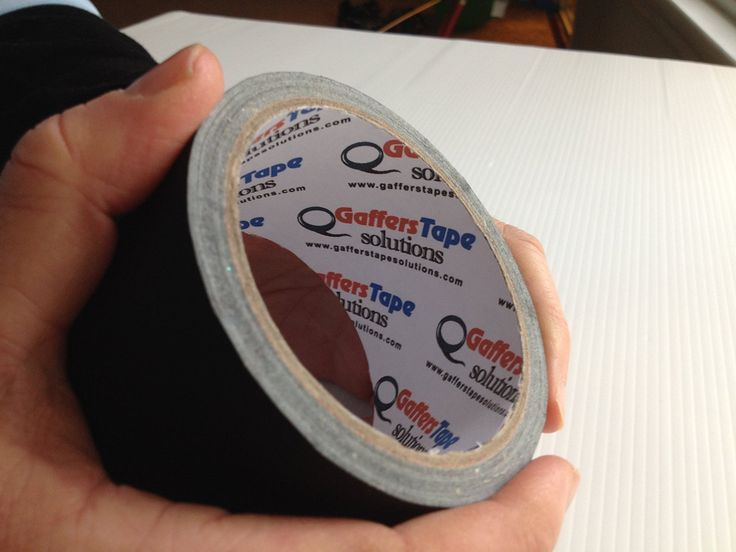 """Amazon.com: Gaffer's Tape Solutions: Professional Matte Black Gaffer Tape 2""""x30yds. Heavy Duty, Strong & Flexible, This Hybrid Gaff Tape Is Waterproof & Leaves No Residue When Removed. Superior To Duct Tapes It Is Perfect For Both Professional & Home Use.: Office Products"""