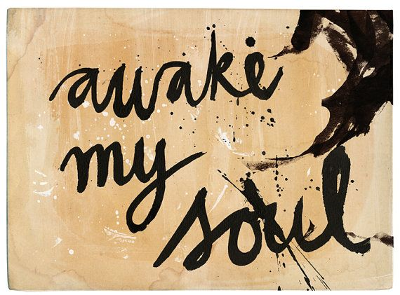 Awake My Soul archival quality art print by Paula Mills for Sweet William - Small and Medium size