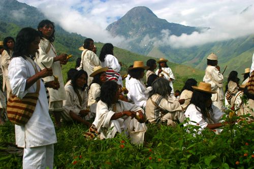 meet the Kogi. Indigenous people of Colombia