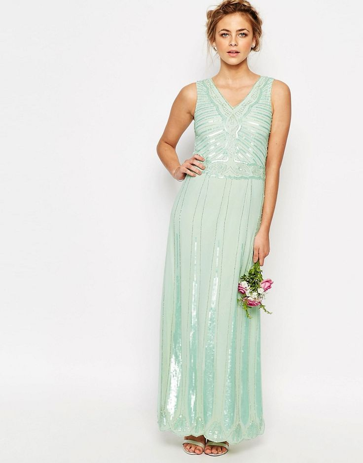 358 best Mint Weddings images on Pinterest | Cake wedding, Gold ...