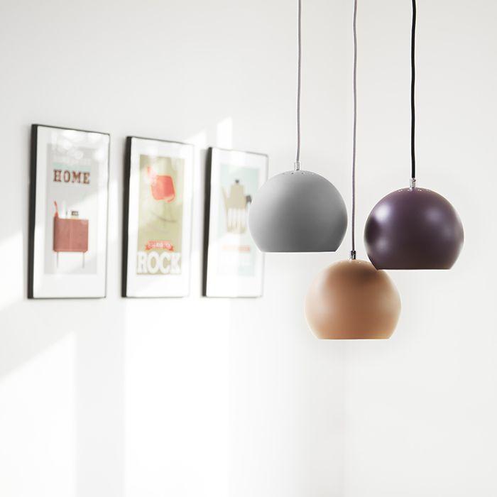 Frandsen Ball Pendel Matt - Pendler og hengelamper - Taklamper - Innebelysning | Designbelysning.no