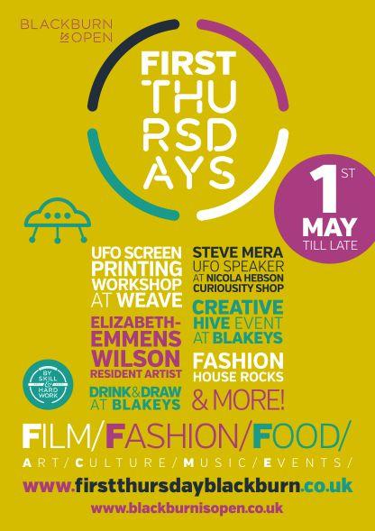First Thursdays Poster