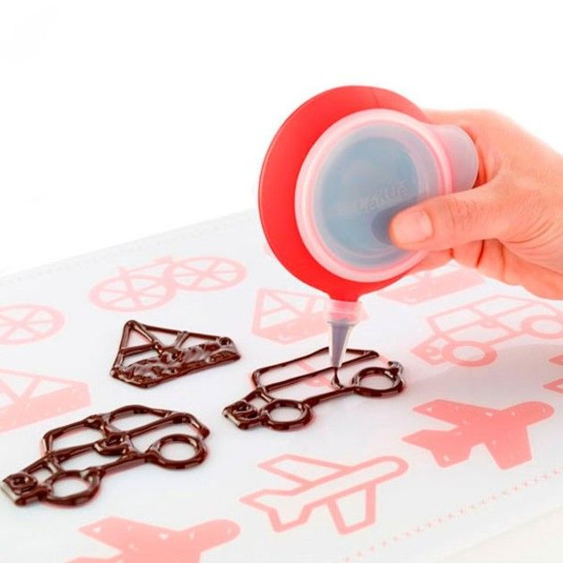 Kit Decomat para decorar con chocolate - LEKUE