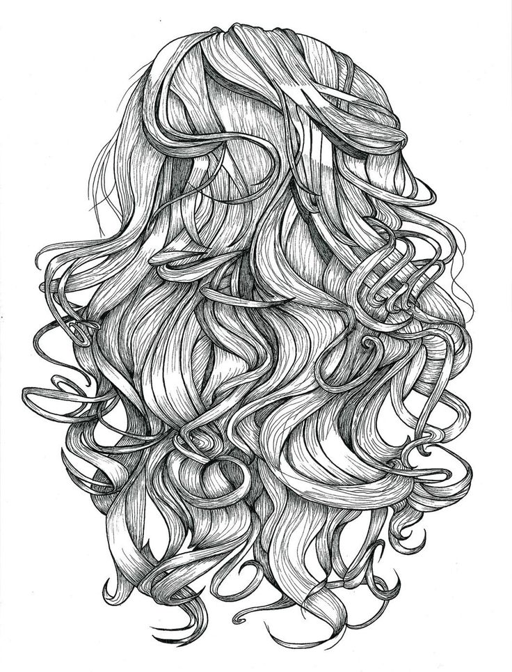 Line Art Hair : Best images about curly hair on pinterest mothers