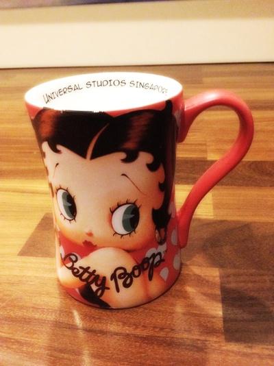 Betty Boop Coffee Mug.