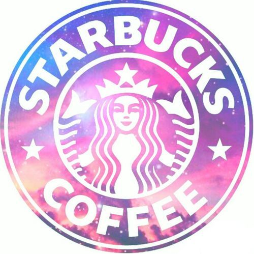 Starbucks is LIFEEE | We Heart It | starbucks, galaxy, and pink