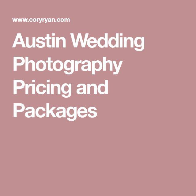 Best  Wedding Photography Pricing Ideas On   Wedding