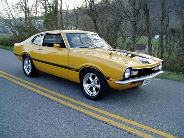 Ford Maverick Grabber...my first car, only it was red..