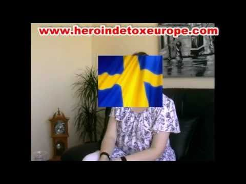 Patient from Sweden, after detoxification from methadone addiction