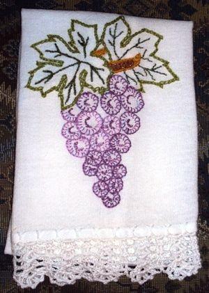 Blog de betart :BetArt Artesanatos, Bate mão uva