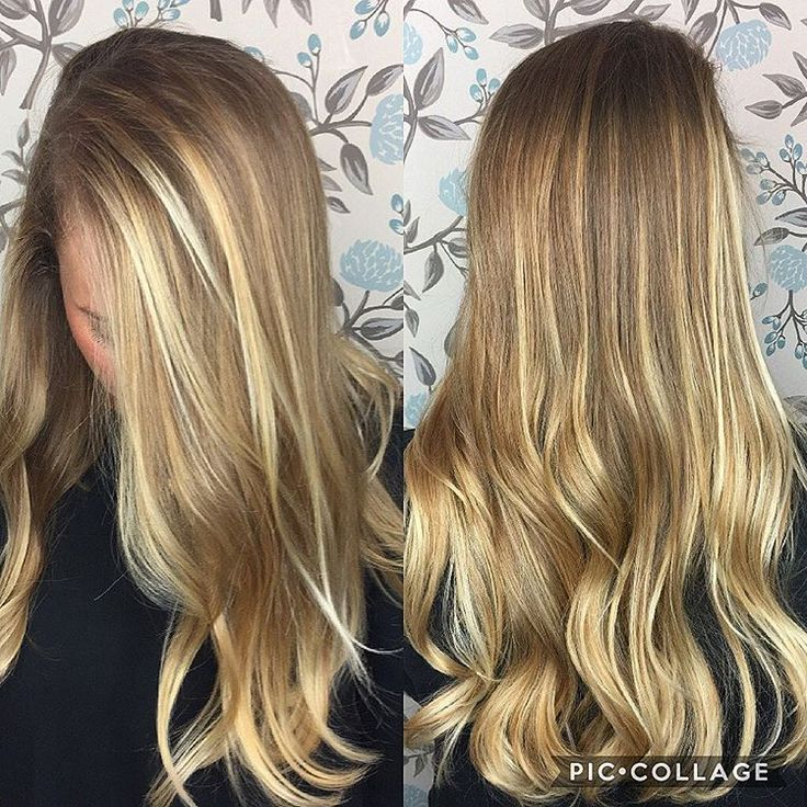 """85 Likes, 9 Comments - Haley Davis (@htdhairandmakeup) on Instagram: """"This girl 😍 that balayage 😍 @tommilynn you're a doll 😘 . . . #hair #hairdo #balayage #blondehair…"""""""