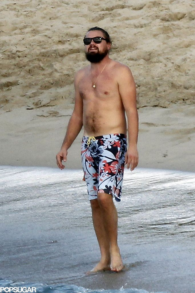 Leonardo DiCaprio Kicks off 2015 Surrounded by Babes in St. Barts
