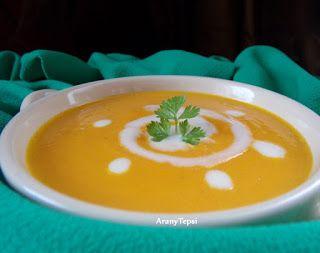 AranyTepsi: Tejszínes sárgarépa krémleves