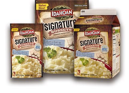 NEW! $1.00 Off Idahoan Signature Russets Mashed Potatoes!