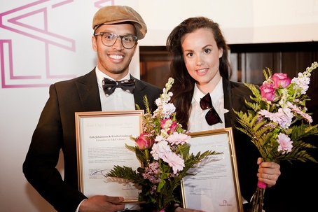 """Just won """"Young entrepreneurs of the year in North of Sweden"""""""