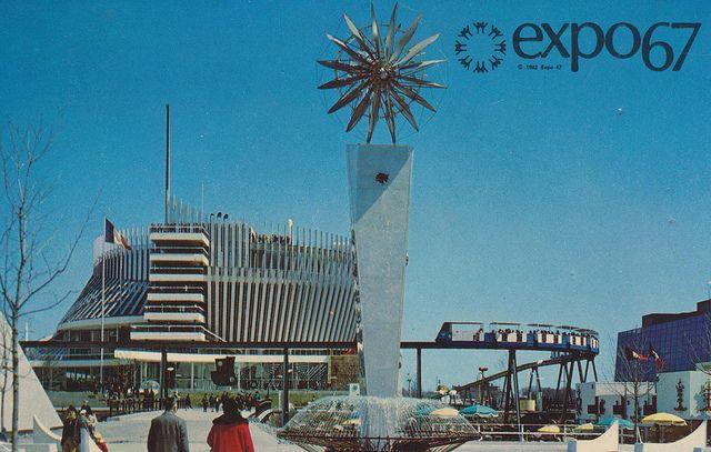 Le Pavillon de la France à l'Expo 67. Pavilion of France at Expo '67 - Montréal, Québec by What Makes The Pie Shops Tick?, via Flickr