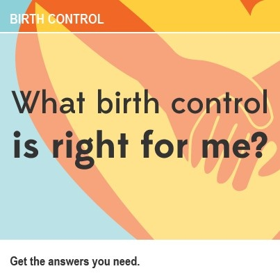 What is the best birth control option for me