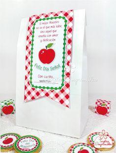 ✽ Cajitas y etiquetas imprimibles Gratis para el Día del Maestro | Tarjetas Imprimibles ✽