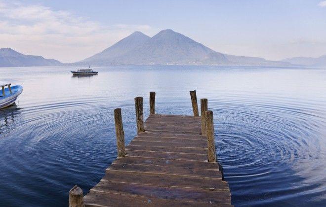 "Experience the ""unique blend of Maya tradition and bohemian counterculture"" at Lago Atitlan. #Travel #Guatemala #Maya"