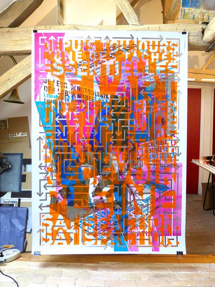 Les affiches du graphiste Perrottet exposées à Saint-Herblain