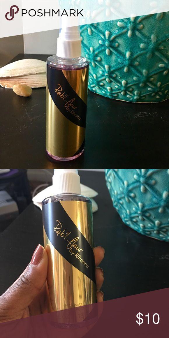 Rihanna Rebelle Fleur Body Mist This came as a part of a gift set, sprayed once! 4FL. Rihanna Makeup
