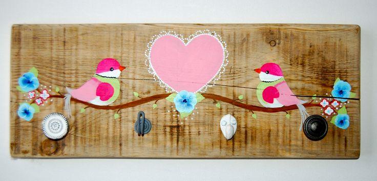 Kapstok in de style van je baby/kinder kamer? Neem een kijkje in onze webshop www.zandmenke.nl voor meer voorbeelden. www.facebook.nl/zandmenke