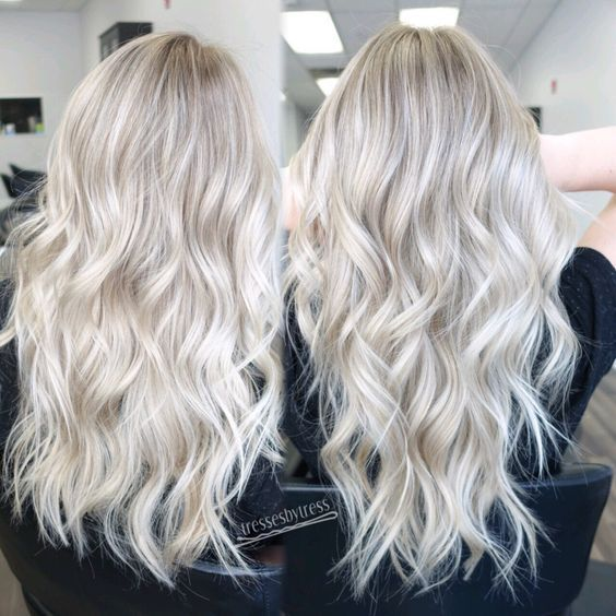 The 25 best white blonde highlights ideas on pinterest white 23 beautiful platinum blonde hair color ideas platinum white blonde balayage pmusecretfo Images