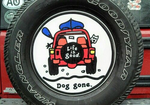 life is good jeep tire cover jeep pinterest. Black Bedroom Furniture Sets. Home Design Ideas