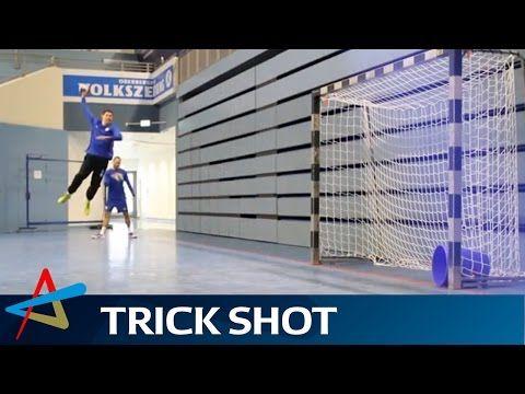VfL Gummersbach's wonderful wing shots   Trick Shot Showdown - YouTube