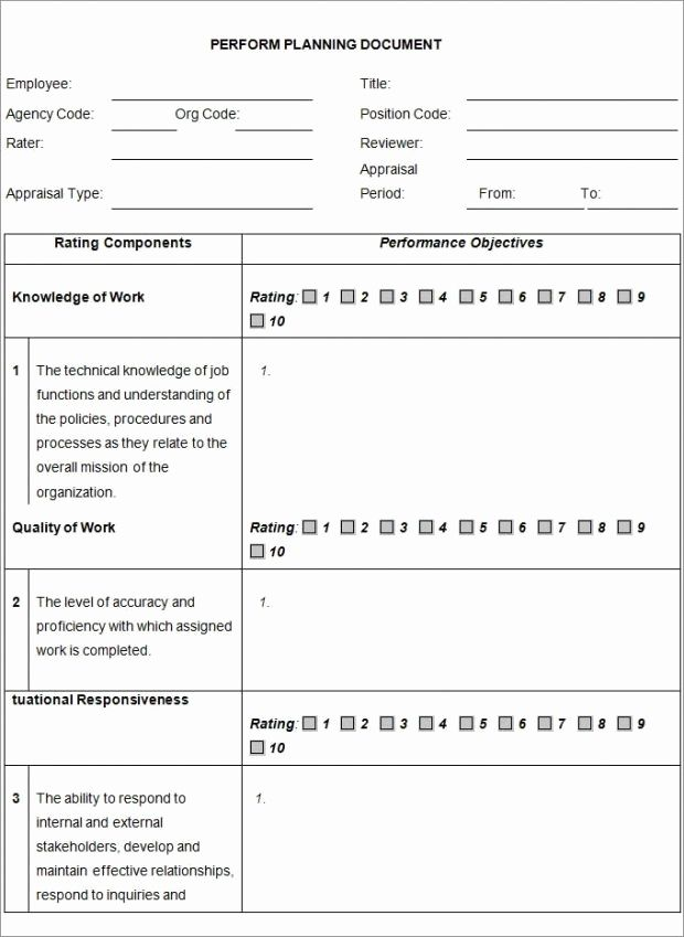 Image Result For Employee Development Plan Template Employee