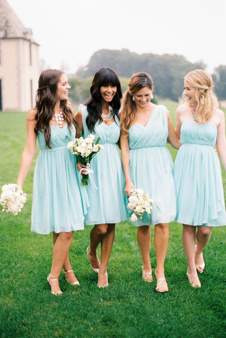 172 best mint green weddings images on pinterest mint green there is something sweet and crisp about the spearmint color that makes it perfect for short bridesmaid dressesbridesmaid ombrellifo Images