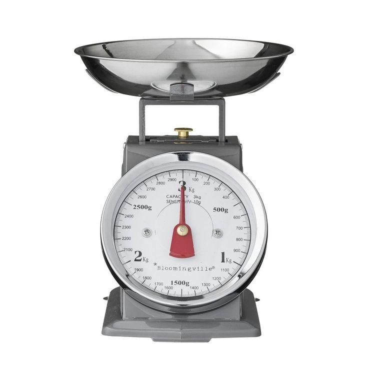 Kuchyňská váha Grey | Nordic Day