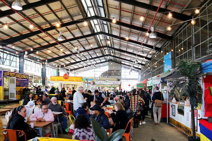 Market Square at Dandenong Market - Melbourne