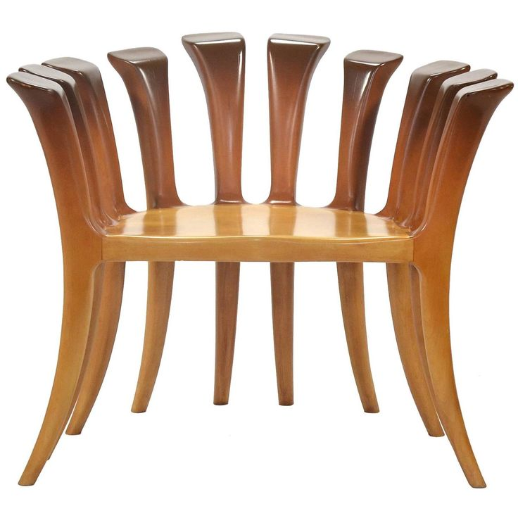 Studio Craft Chair | From a unique collection of antique and modern lounge chairs at https://www.1stdibs.com/furniture/seating/lounge-chairs/