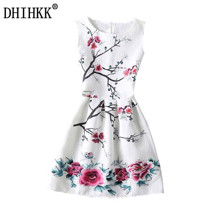DHIHKK 2017 New Women Summer Casual Dress Vintage Sexy Party Vestidos Ladies Vestido De Festa Women Dresses Maxi Boho Clothing