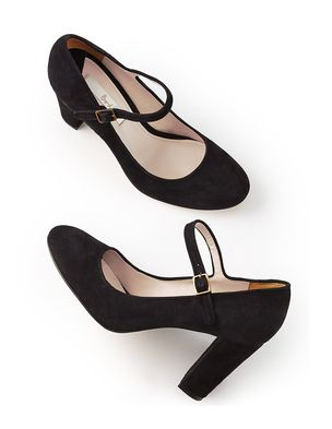 Boden - Mary Jane - $188- not sure if these would work for me but the shape of the heel, the toe, the shoe itself, everything about this silhouette is exactly right.