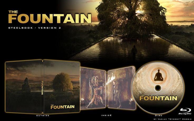 The Fountain - V2  - STEELBOOK -  Fan art