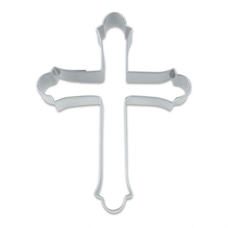 Kors udstikker - 5,5cm - Udstikkere - kagedeko.dk