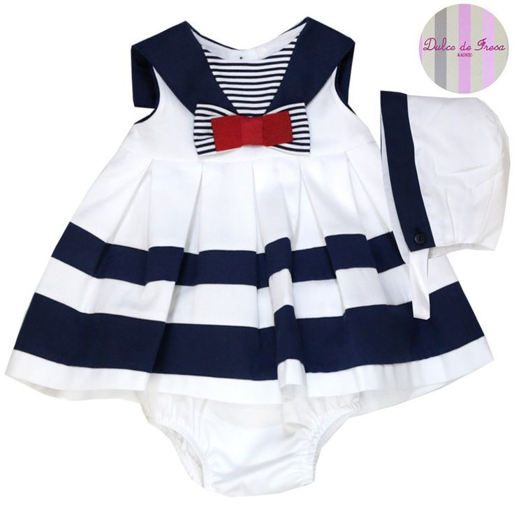 vestidos de niña estilo marinero - Buscar con Google