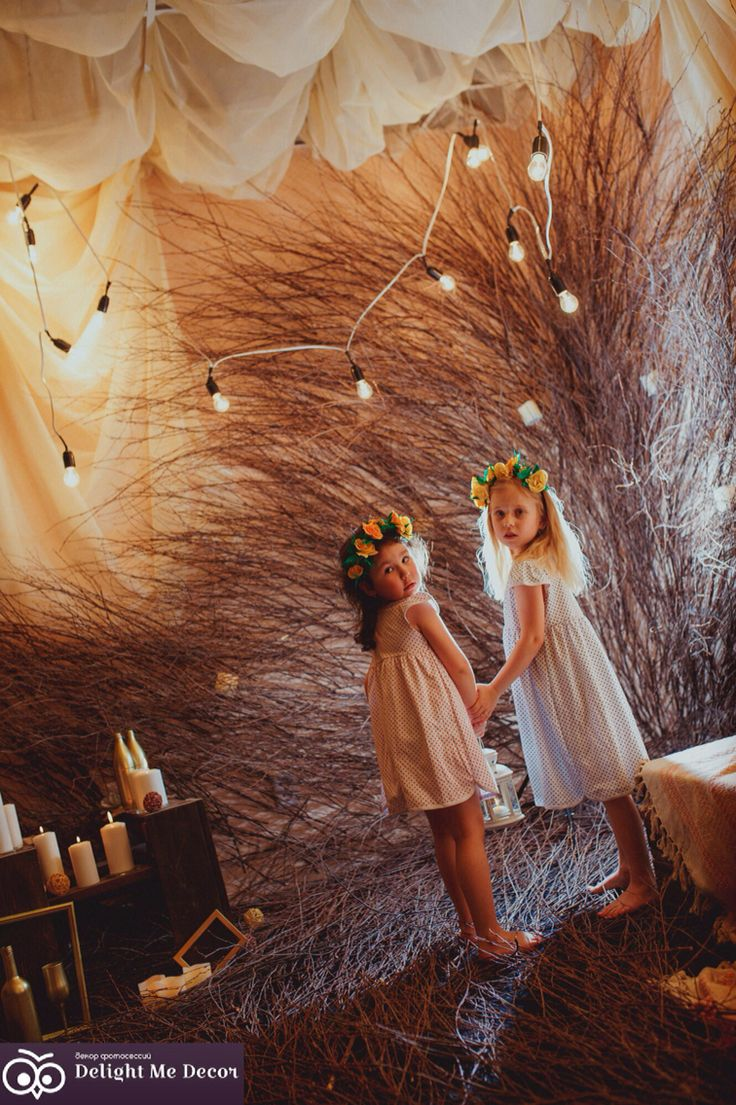 My wonderful magic forest! Budget of this photo zone just 60$!! Everything possible!! Decor studio  Delight Me Decor