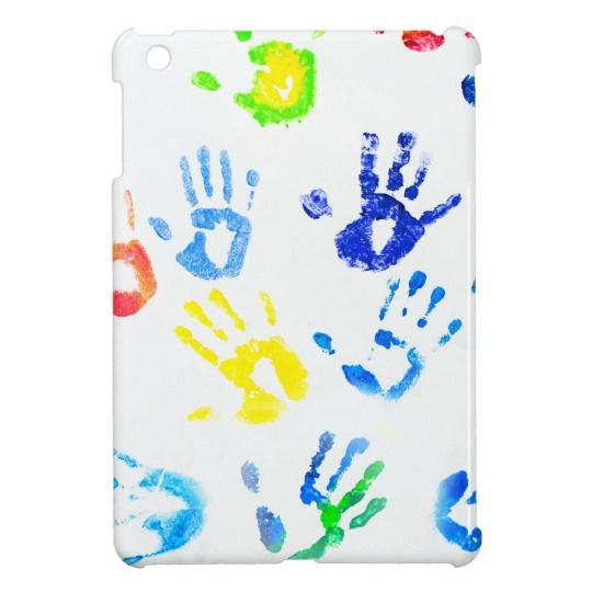 Rainbow Color Arms Prints Cover For The iPad Mini