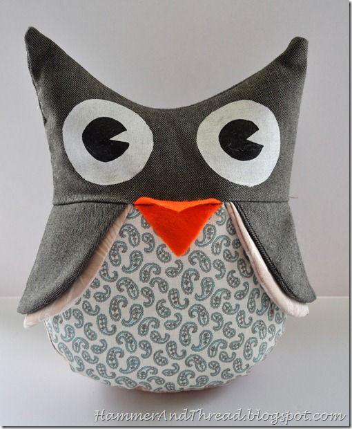 owl stuffie tutorial