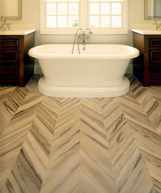 Chevron Marble Rug: I Like The Subtlety Of The Striated