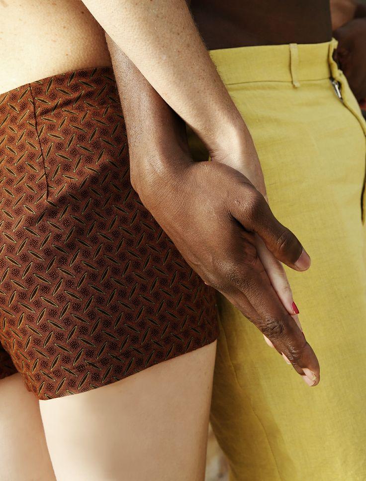Women #shweshwe short €30 Men linen short €40 Women linen short €40