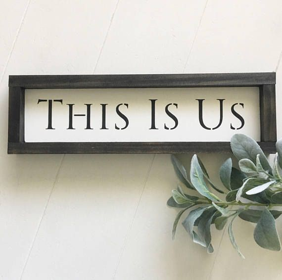 This Is Us, Kitchen Sign . Farmhouse Decor . Farmhouse Kitchen, rustic, modern country, farmhouse, kitchen, gifts, Fixer Upper, Modern Country . DIY Decor Kitchen Decor . Farmhouse . Framed Sign, christmas gift #afflink #ss